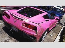 Angelyne's Pink C7 Corvette Has Seen Better Days