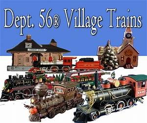 Collection Christmas Village With Train Set