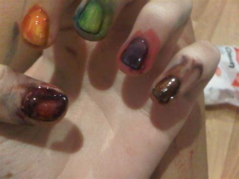 poster paint nails   paint  nail painting nail
