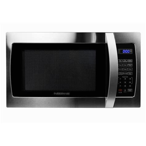 Stainless Steel Countertop Microwave by Farberware Professional 1 3 Cu Ft 1000 Watt Countertop