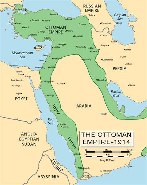 Empire Ottoman En 1914 by Primera Guerra Mundial Historietas Historiador