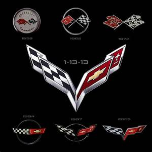 Next Corvette Logo Released And Next Vette To Be Released At Detroit Auto Show