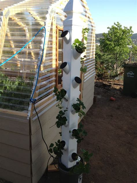 Vertical Hydroponic Garden by 25 Best Ideas About Vertical Hydroponics On