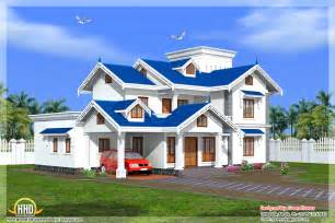Beautiful Hton Style House Plans by Beautiful 4 Bedroom Kerala House Home Appliance