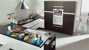cuisine en u sellingstgcom With meuble bar pour cuisine ouverte 0 la cuisine en u avec bar voyez les derniares tendances