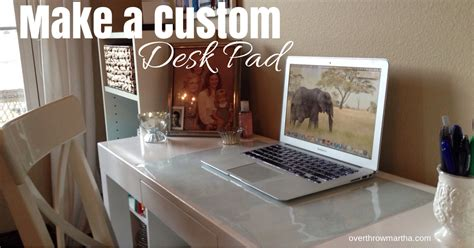 diy padded desk make a custom desk pad any size any design overthrow