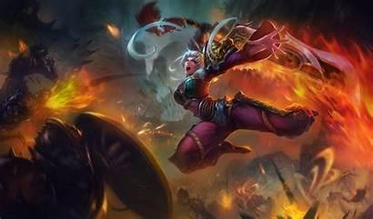 Lol Riven League Legends Splash 4k Dragonblade