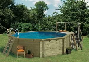 Pool Mit Holz : pool zum aufstellen holz schwimmbad und saunen ~ Orissabook.com Haus und Dekorationen