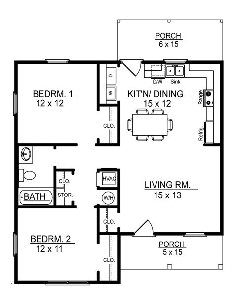 2 bedroom cottage plans small 2 bedroom floor plans you can small 2