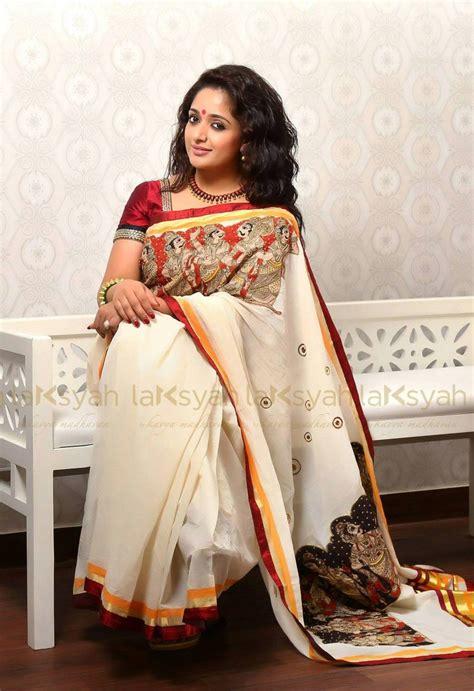 pin by malini on projects to try set saree kasavu saree