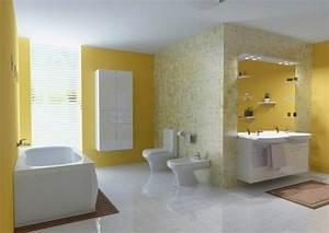 peinture salle de bain 80 photos qui vont vous faire craquer With idee de couleur pour salon 3 peinture salle de bain 80 photos qui vont vous faire craquer