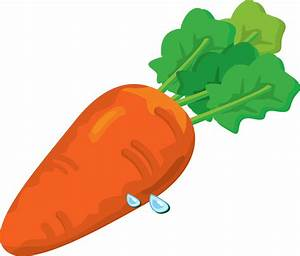 Carrot clipart animated - Pencil and in color carrot ...