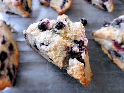 recipes for blueberries la petite brioche blueberry scones