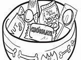 Coloring Candy Pages Chocolate Donut Drawing Printable Houses Draw Getdrawings Popular Ages Coloringhome sketch template
