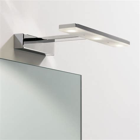 led adjustable over mirror light for the modern bathroom