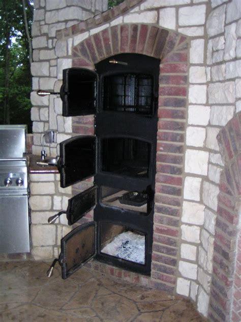 built  smoker fire pinterest backyard spaces
