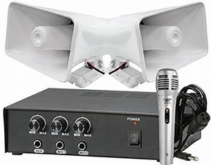 Pyle Phsp5 8  Outdoor 65 Watts Pa Horn