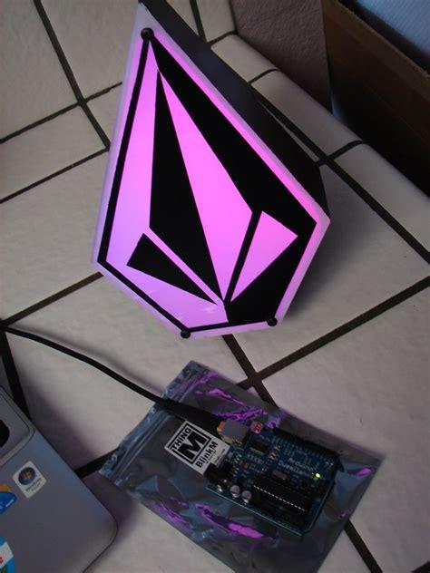 volcom rgb desktop light box arduino proyectos electronica