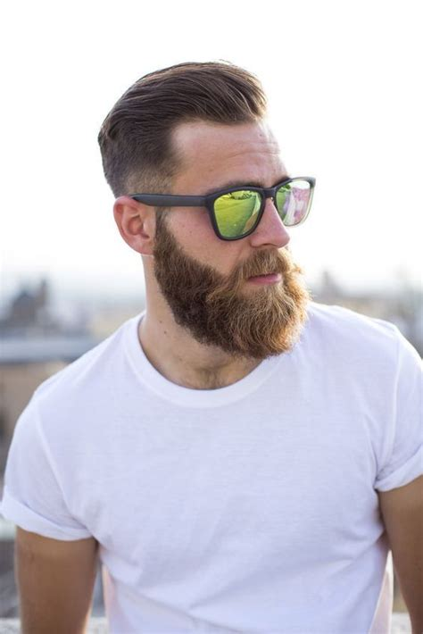 trendy undercut hairstyles  compliment  beard