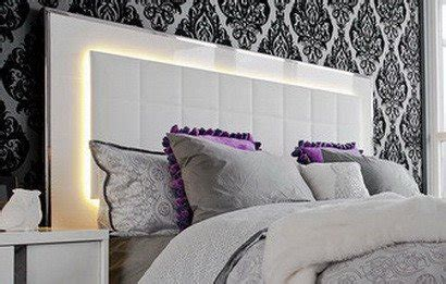 27265 bed with lights 35 led headboard lighting ideas for your bedroom us3