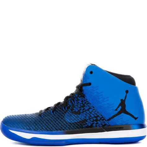 Air Jordan Xxxi Blackgame Royal White