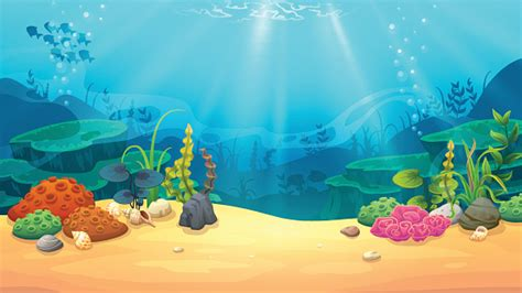 Underwater Clipart Fish Tank Clipart Underwate Background Pencil And In