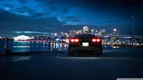 chevrolet camaro city night  hd desktop wallpaper