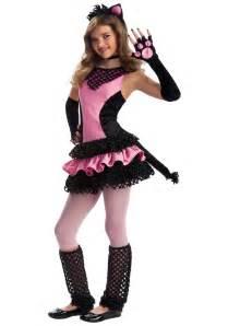 kitty cat costume tween black kitty costume