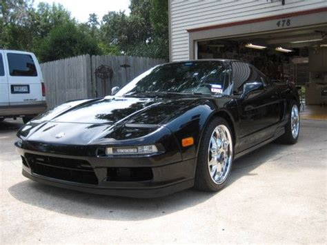 find used 1991 acura nsx black on black rare automatic