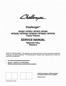 Agco Technical Publications  Challenger Tractors