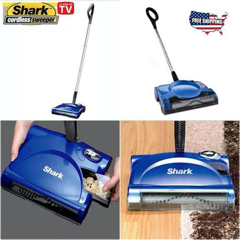 shark swivel floor carpet sweeper rechargeable cordless vacuum cleaner stick new ebay