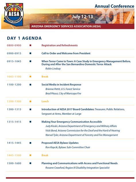 conference agenda waneworg