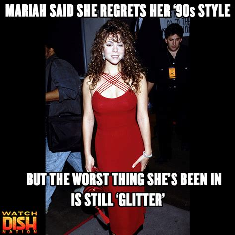 Mariah Carey Memes - mariah carey blames glam squad for her 90s look dish nation entertaining entertainment news