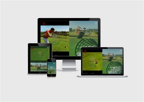 App Golf Design Template by Tenerife Golf Template Best Css Award Apps And Web