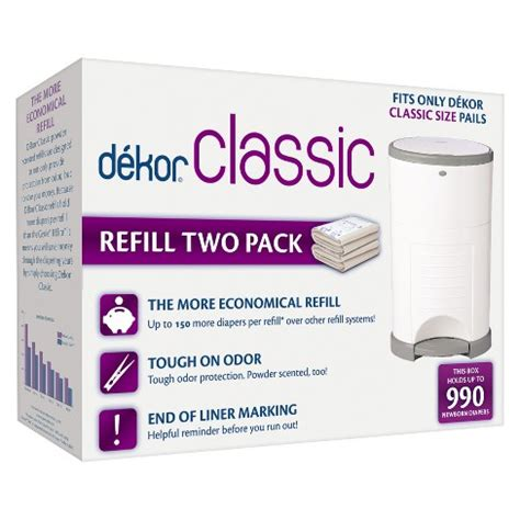 dekor classic diaper pail refills pk target