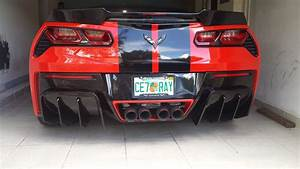 New Xk Rear Diffuser Review And Install - Corvetteforum