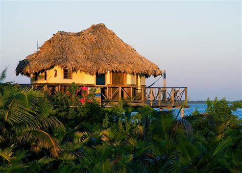 Cayo Espanto Belize Overwater Bungalow