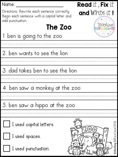 best 25 simple sentences worksheet kindergarten writing writing worksheets writing practice