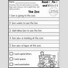 Best 25+ Simple Sentences Worksheet  Gigi  First Grade Writing, 1st Grade Writing, Writing