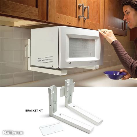 microwaves that mount under a cabinet bestmicrowave 9 genius tips for organizing kitchens and clearing the