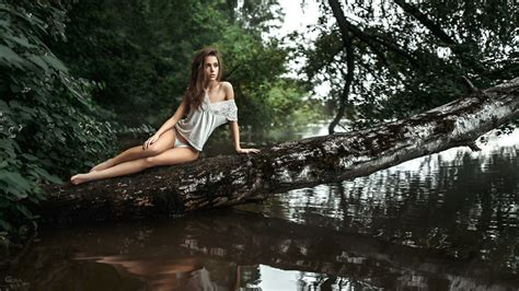 wallpaper ksenia kokoreva model pretty babe brunette