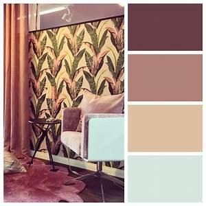 Gemütliche Wohnzimmer Farben : inspiration zur raumgestaltung mit farben in warmen beeren t nen ideal f r wohnzimmer oder ~ Watch28wear.com Haus und Dekorationen