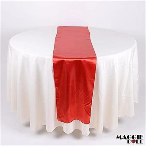 maggiedoll 10 satin table runners sashes cloth purple