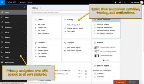 Office 365 Portal Software by Office 365 Admin Center Walkthrough
