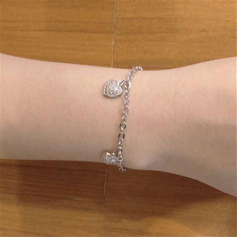 Gelang Rantai Geometris Perak jual gelang tangan silver 925 perhiasan perak 925 lapis