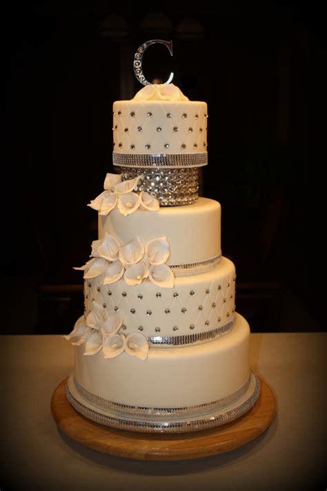 bling wedding cakes bling wedding cake cakecentral