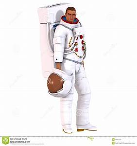 3D Astronaut Stock Image - Image: 4007151