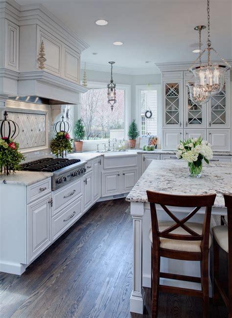 dallas white granite kitchen traditional  integrated