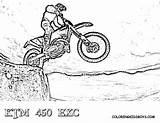 Dirt Coloring Bike Pages Ktm Sheets Dirtbike Bikes Yescoloring Rider Exc Motorcycle Boys Adult Fierce Helmet Riders Dirtbikes Tricks Truck sketch template