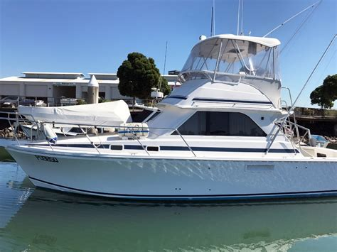 Fishing Boat For Sale Qld by Caribbean 35 Flybridge Cruiser Game Fishing Power Boats